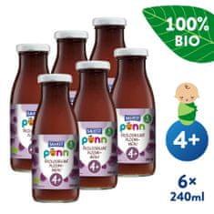 Salvest Põnn BIO Švestková šťáva s dužinou 6x (240 ml)