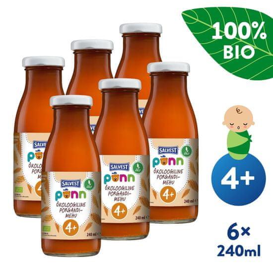 Salvest Põnn BIO Mrkvová šťáva s dužinou 6x (240 ml)