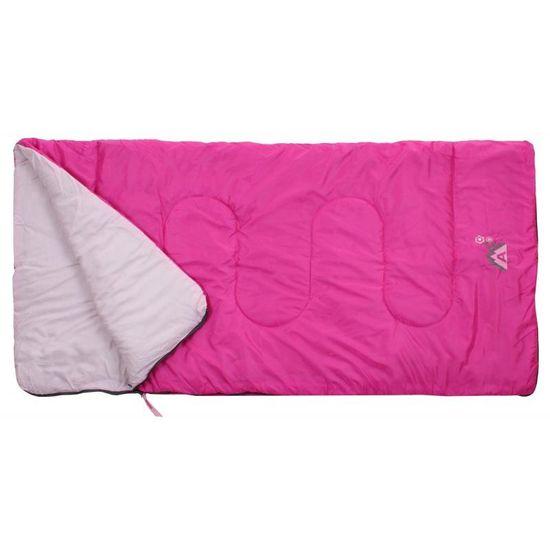 Merco Abbey Camp Junior vreća za spavanje, ružičasta