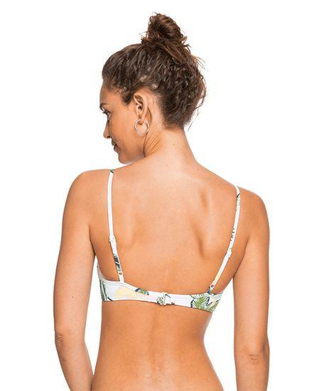 Roxy Ženski modrček za kopalke Roxy Bloom Wrap Bra ERJX304372- WBB6