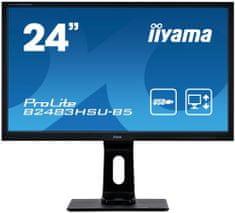 iiyama ProLite B2483HSU-B5 monitor, 61 cm, TN, FHD