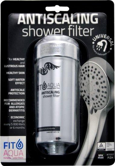 Bluefilters Sprchový filtr stříbrný