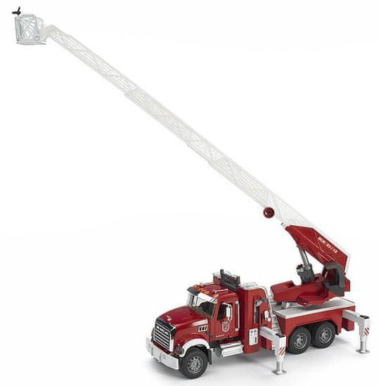 Bruder gasilsko vozilo Mack Granite 2821