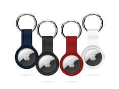 EPICO AirTag Silicone 4 pack bundle - černá, bílá, modrá, červená 9910101300002