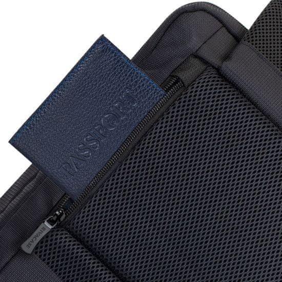 RivaCase nahrbtnik za prenosnik 43,9 cm, črn (8461)