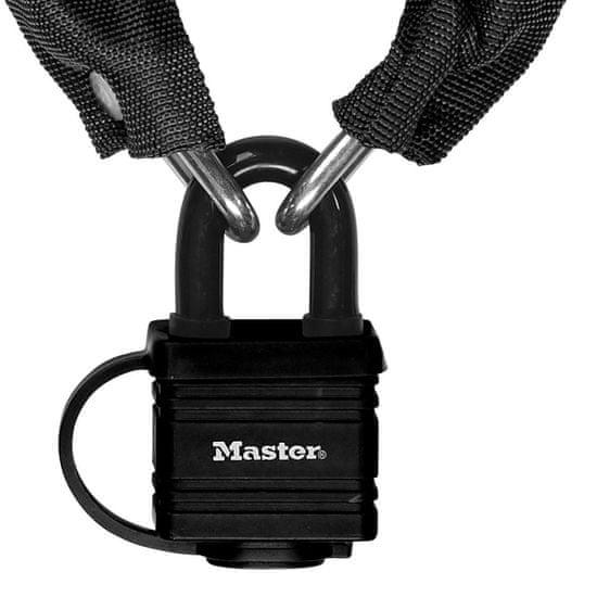 MasterLock 8390EURDPRO Řetězový zámek na kolo s visacím zámkem Master Lock 6mm