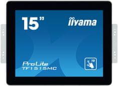 iiyama ProLite TF1515MC-B2 LED informacijski zaslon, 38 cm, TN