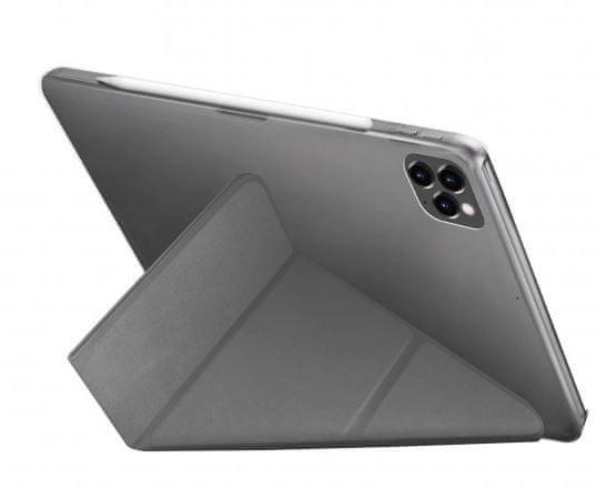 """UNIQ TRANSFORMA RIGOR ochranné pouzdro pro iPad Pro 12.9"""" (2020), šedé UNIQ-NPDP12.9(2020)-TRIGGRY"""