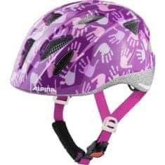 Alpina Sports Ximo Berry Hands otroška kolesarka čelada, 47 - 51