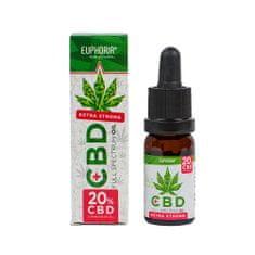 EUPHORIA CBD konopný olej full spectrum 20% 2000 mg 10 ml