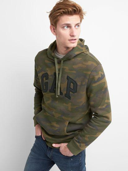 Gap Mikina GAP Logo fleece hoodie