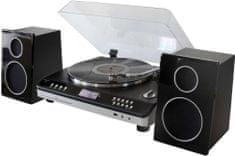 Soundmaster PL979SW, retro Hi-Fi systém, stříbrná/černá