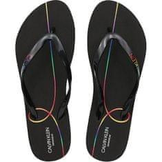 Calvin Klein Női flip-flop papucs KW0KW01368-BEH (Méret 37-38)