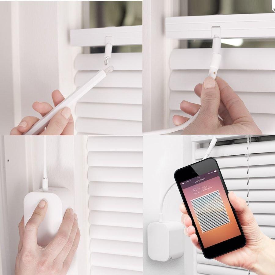 SOMA Tilt – automatické ovládání náklonu žaluzií, Bluetooth