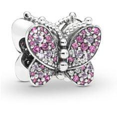 Pandora Srebrna sponka Butterfly 797882NCCMX srebro 925/1000