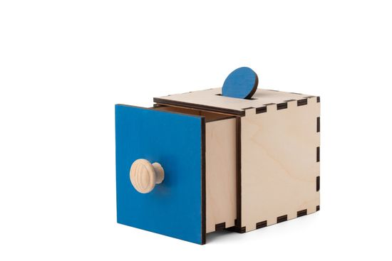 LINIT DESIGN Škatla razumevanja stalnosti predmeta 3 Po Montessori pedagogiki