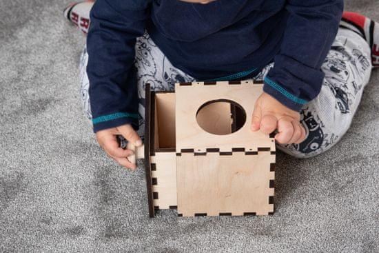 LINIT DESIGN Škatla razumevanja stalnosti predmeta 2 - po Montessori pedagogiki