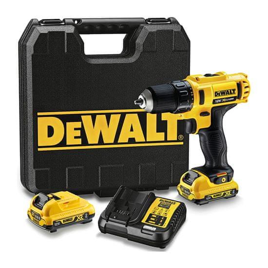 DeWalt Akumulátorový vŕtací skrutkovač DCD710D2