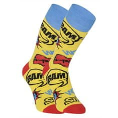 Styx Veselé ponožky vysoké Poof (H1153) - velikost S