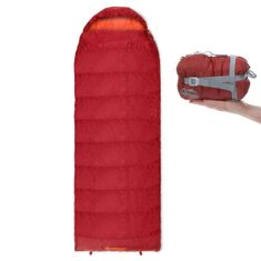 Qeedo spalna vreča Light Hitazo XL, rdeča