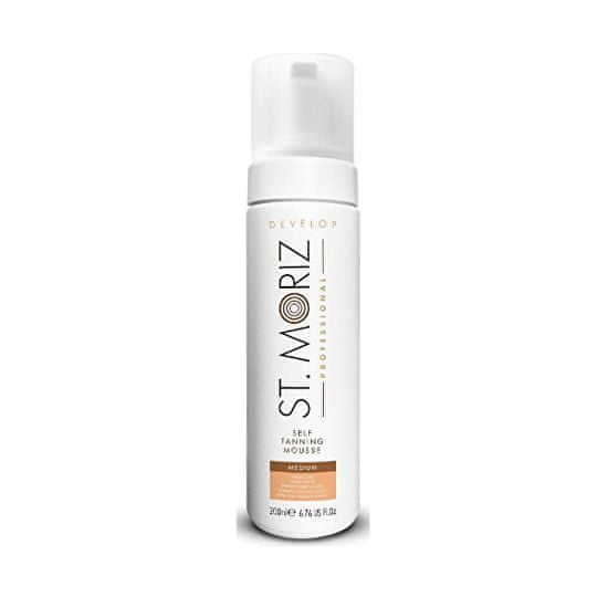 St. Moriz Bronasta pena za srednje porjavelo Professional (Tanning Mousse Medium) 200 ml