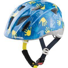 Alpina Sports Ximo Blue Hands otroška kolesarka čelada, modra, 47 - 51