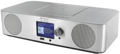 Soundmaster ICD2070SI, internetové rádio, DAB+/FM, stříbrná