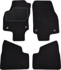 MAMMOOTH Koberce textilní, Opel Astra H 2004-2014, černé, sada 4 ks
