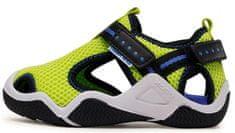 Geox fantovski sandali JR WADER J1530A 00014 C2K4T, 28, zelena