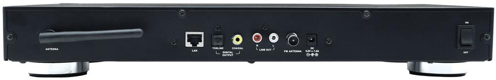 Soundmaster IR45SW, internetové rádio, černá