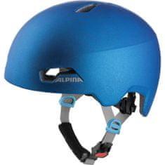 Alpina Sports Hackney otroška kolesarska čelada, modra, 51 - 56