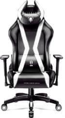 Diablo Chairs X-Horn 2.0, dětská, černá/bílá (5902560336917)