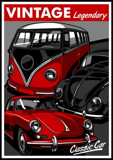 BrinX.cz Vintage Legendary Car -