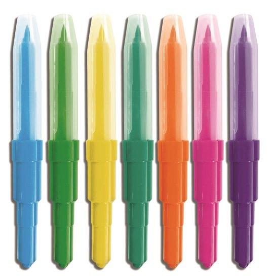 SES pihalni markerji, 7 barv