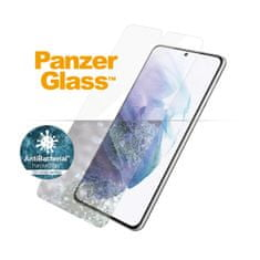 PanzerGlass Edge-to-Edge Antibacterial zaščitno steklo Samsung Galaxy S21+ 5G (FingerPrint Ready) (7270)