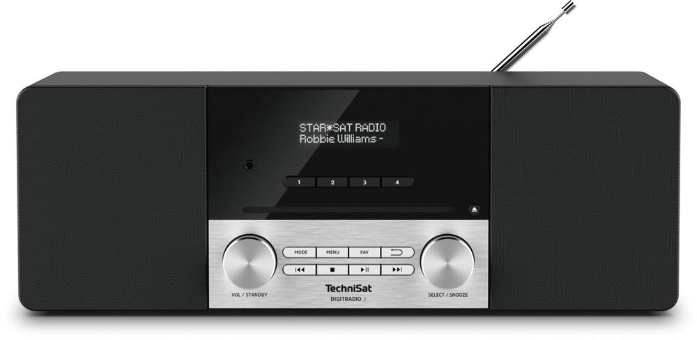 Technisat DIGITRADIO 3, černá/stříbrná