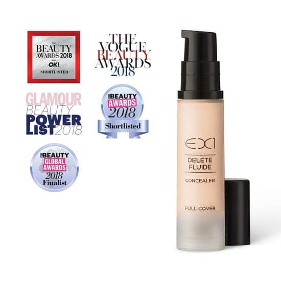 EX1 cosmetics Tekutý korektor Delete Fluid Concealer 8 ml