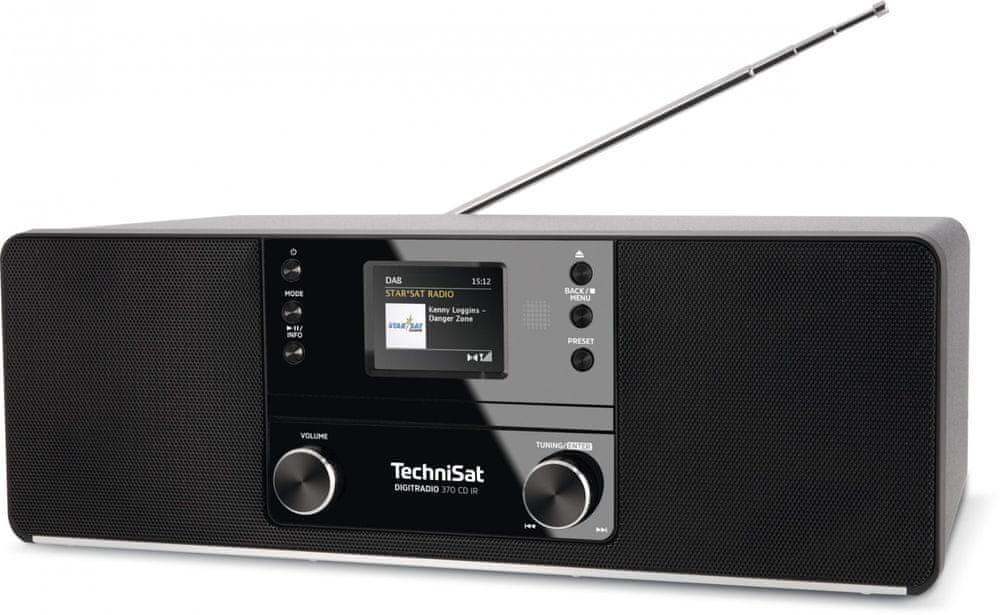 Technisat DIGITRADIO 370 CD IR, černá