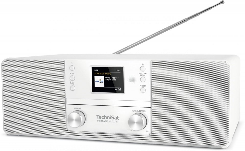 Technisat DIGITRADIO 370 CD IR, bílá