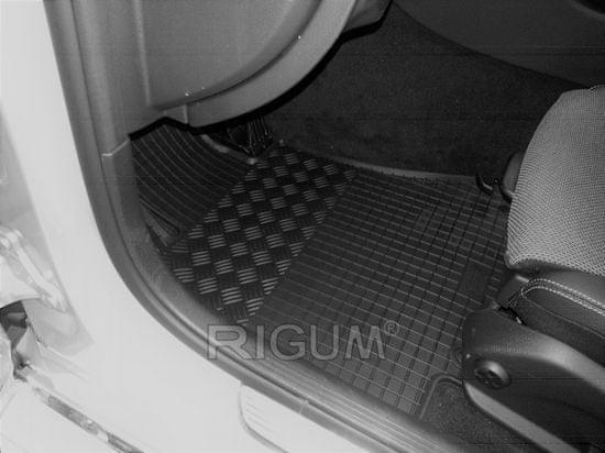 Rigum Gumowe dywaniki Mercedes W/S204 Klasa C. 2007-