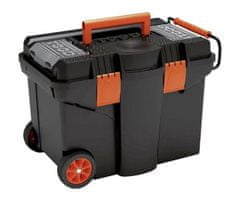 Tood Pojazdný kufor, 580 x 380 x 410 mm, plastový, 2 organizéry, 1 priehradka