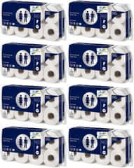 CARTECHNIC Toaletný papier 2vrstvý, 250 útržkov, balenie 8x8 rolí - Cartechnic