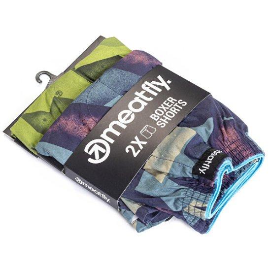 MEATFLY Komplet moških kratkih hlač Agostino D-Shade