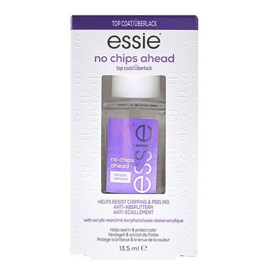 Essie Vrchní lak na nehty proti loupání barvy No Chips Ahead (Top Coat) 13,5 ml