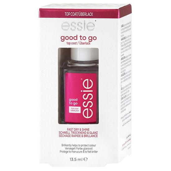 Essie Rychleschnoucí vrchní lak na nehty Good To Go (Top Coat) 13,5 ml