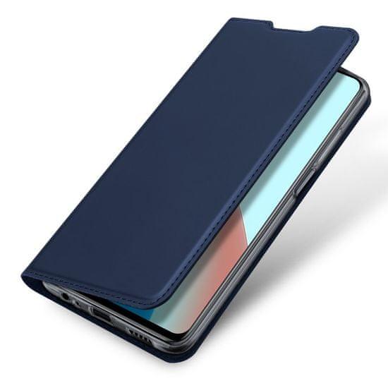 Dux Ducis Skin Pro knjižni usnjeni ovitek za Xiaomi Redmi Note 9T 5G, modro