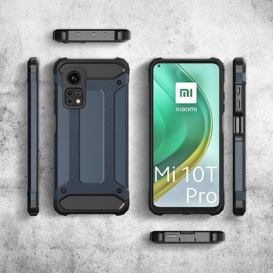 MG Hybrid Armor plastika ovitek za Xiaomi Mi 10T Pro / Mi 10T, črna