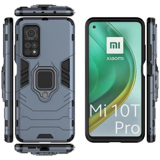 MG Ring Armor plastika ovitek za Xiaomi Mi 10T Pro / Mi 10T, modro