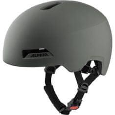 Alpin Haarlem kolesarska čelada, temno siva, 52 - 57