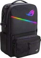 Asus ROG Ranger Gaming nahrbtnik za prenosnik 43,94 cm, RGB, črn (BP3703)